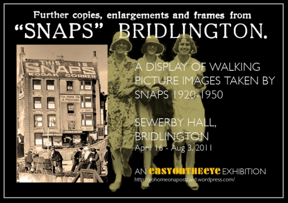walking pictures exhibition advert bridlington