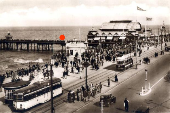Blackpool North Pier 1930